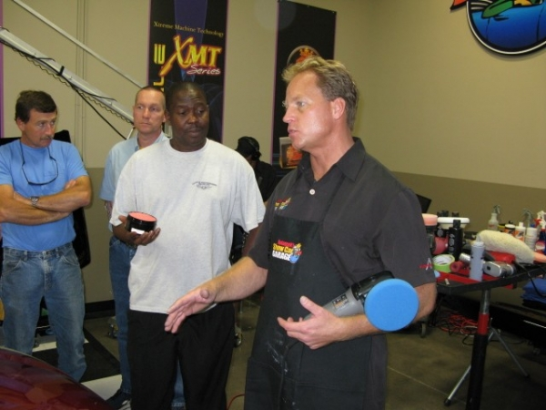 Detailing Classes at Autogeek's Show Car Garage with Mike Phillips