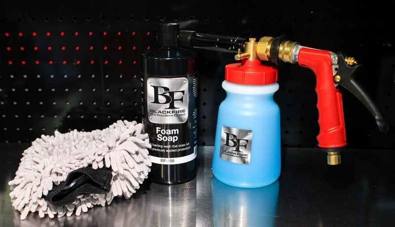 BLACKFIRE Foam Soap & Foam Gun