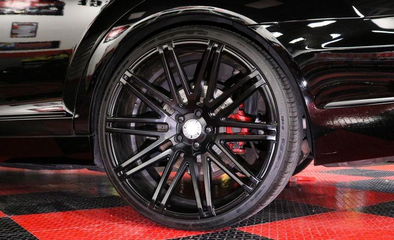 Freshly detailed tires & wheels.