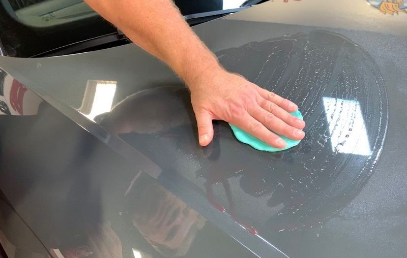 Use clay to remove surface contamination.