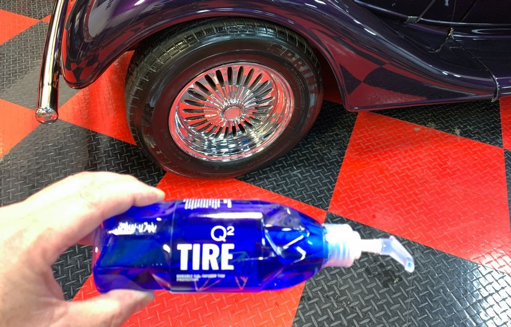 After shot of GYEON Q2M Tire.