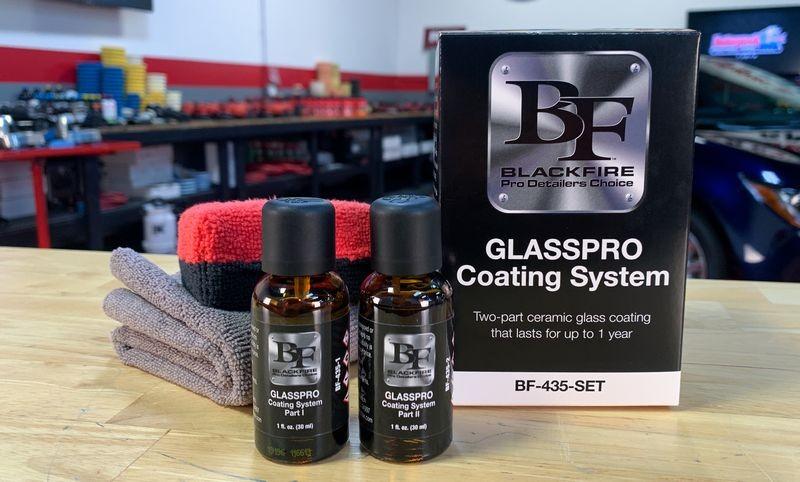 BLACKFIRE GLASSPRO Coating System