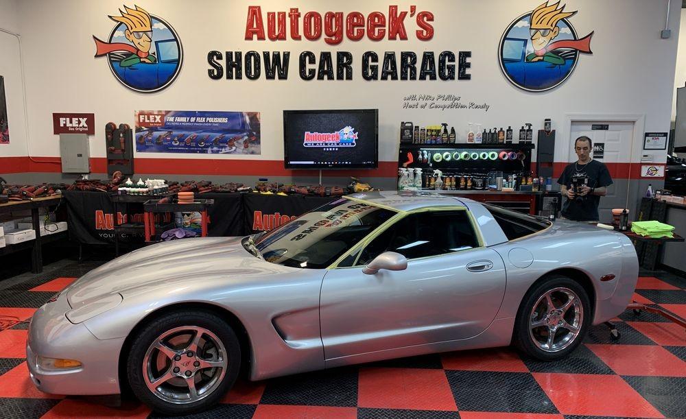 2012 Corvette before detailing.