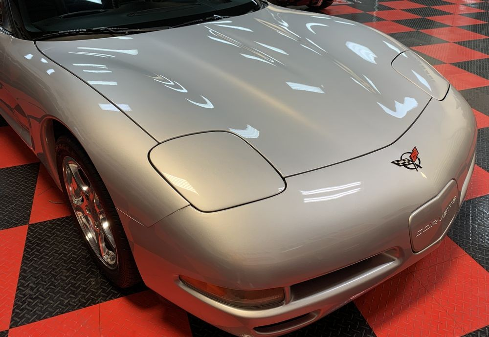 Corvette after detailing with DP Quick Coat.