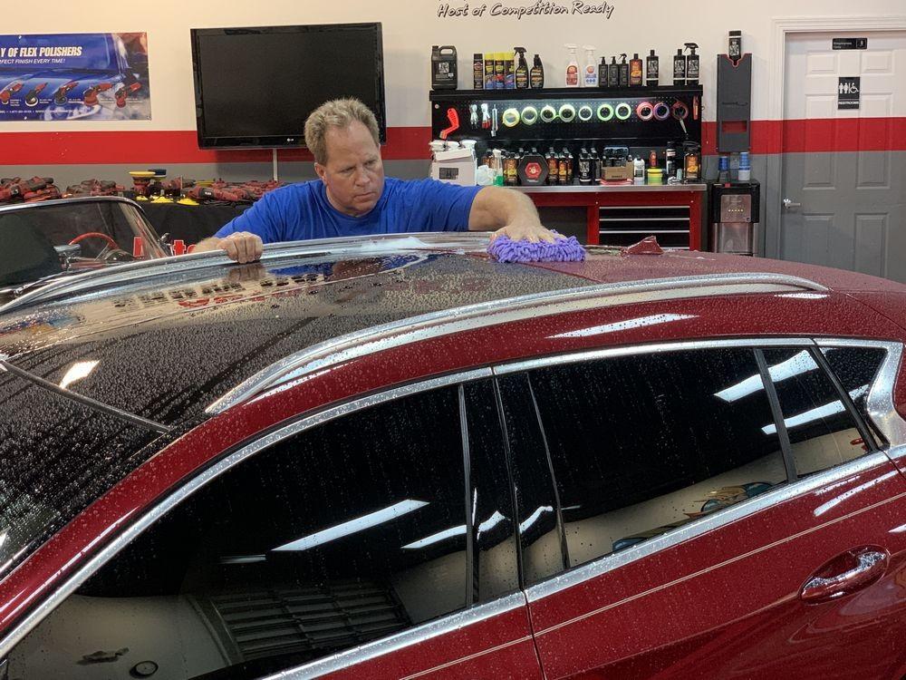 Wash vehicle using a dedicated wash mitt and DP Ceramic Wash.
