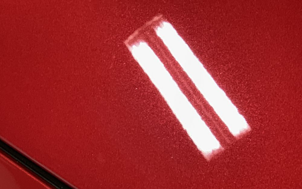 Metallic paint flake is easy to see after DP Graphene Quick Detailer.