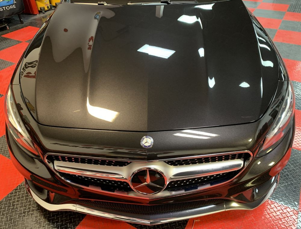 Mercedes-Benz S550 4MATIC Coupe after compounding and polishing.