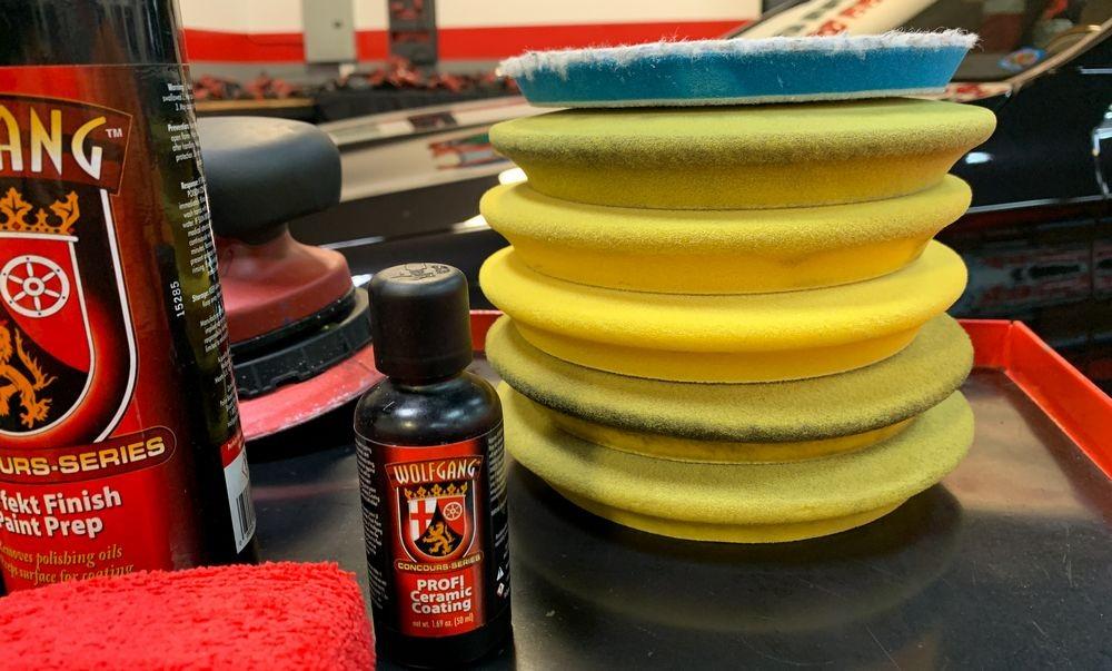 RUPES Pad stack.