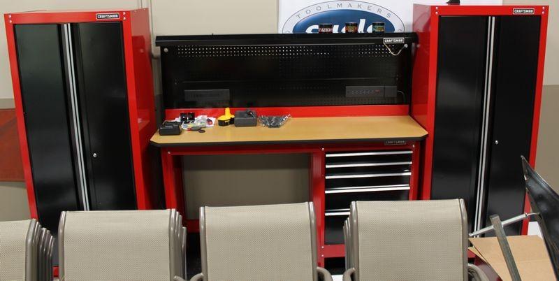 Sears Craftsman Cabinet Garage Bar